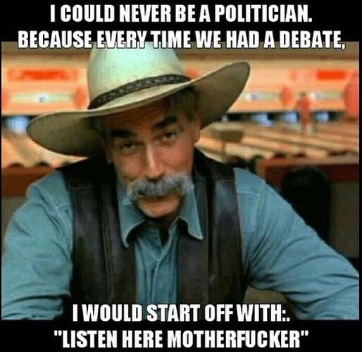 Sam Elliott Politician