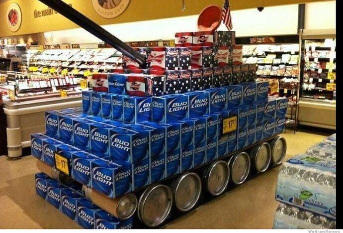 Bud tank