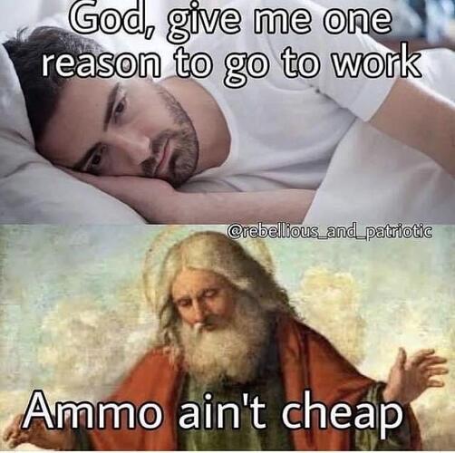 ammo ain't cheap